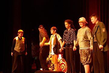 Aufführung der Theater-AG